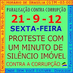 8ª PARALISAÇÃO CONTRA CORRUPÇÃO