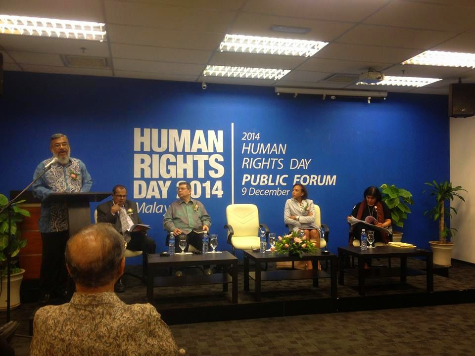 Proham Human Rights Day Public Forum 2014