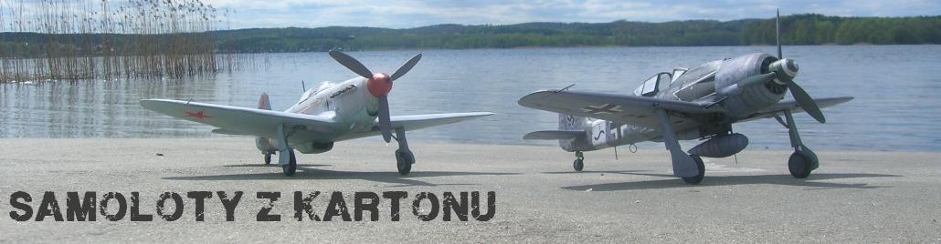 Samoloty z kartonu