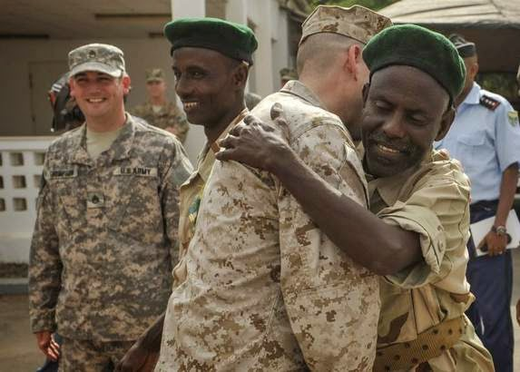 Military News - Unlikely reunion with Djiboutian rescuers brings back haunting memories for Marines