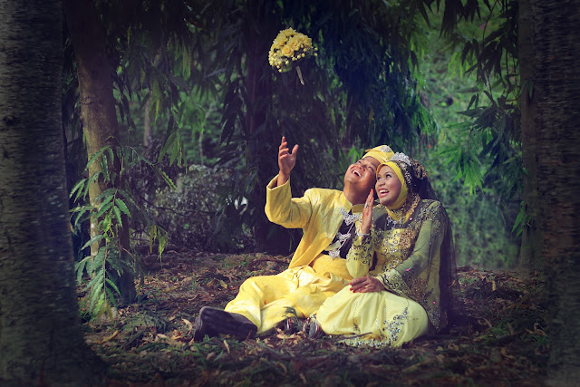 ridzuan & maria outdoor photoshoot 2
