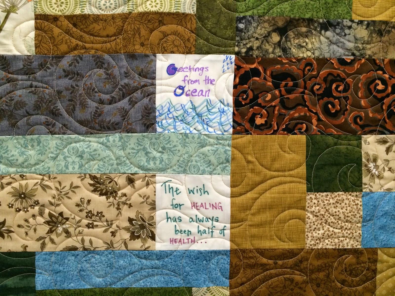Jill Seward's Turning 20 Comfort Quilt