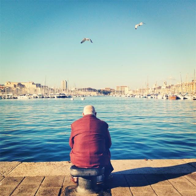 Le vieux port Marseille ©lovmint