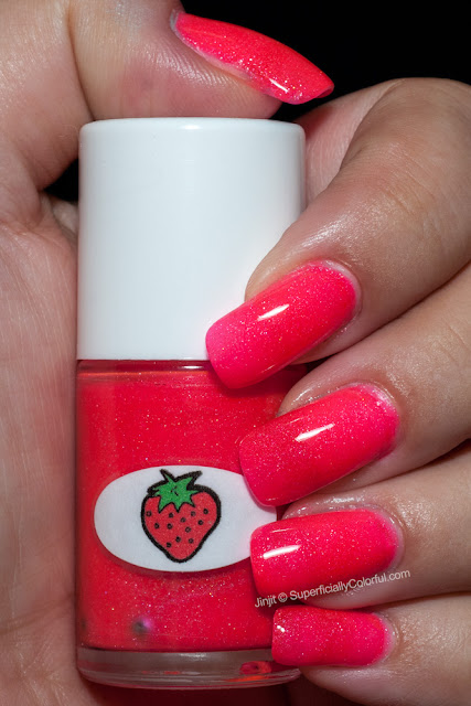 Shimmer Jelly Strawberry The Nail Junkie