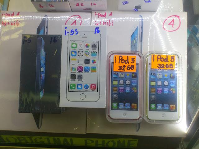 Вот он, тот самый Айфон 5, любой расцветки на выбор