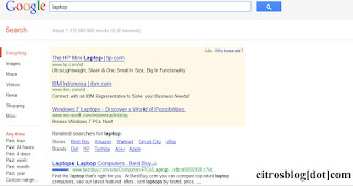 Laptop Search Result