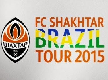 Time Shakhtar Donetsk da Ucrânia  anuncia amistoso contra o Bahia