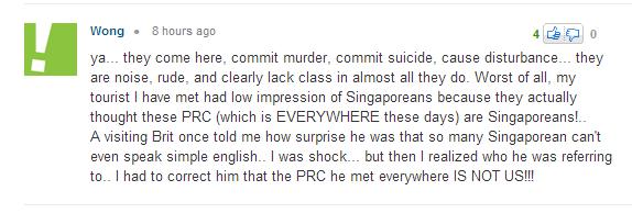 Singaporeans bad English