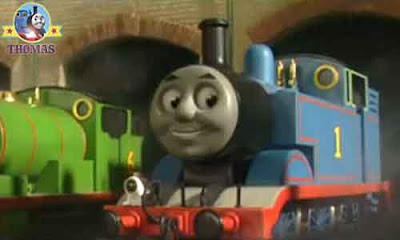 Island Sodor railway number one train day off Thomas the tank engine and friends were very pleased