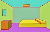 Perspectiva c frontal - cuarto I