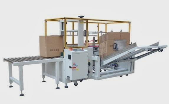 automatic carton erector case erecting equipment formeuse de cartons automatique