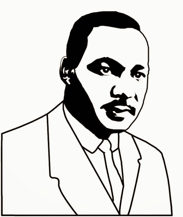 Print free heroes biography of martin luther king coloring for Martin luther king jr coloring pages