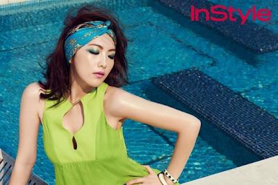 Jiyoung KARA InStyle Magazine July 2013