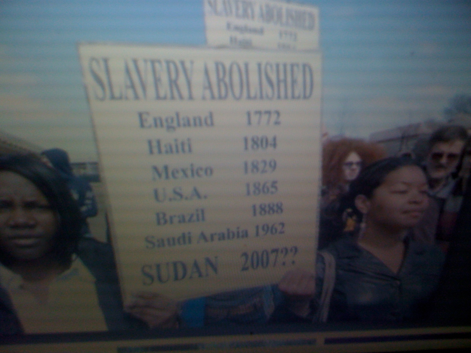 slave redemption in sudan Every two months, john eibner goes to sudan to buy back slavesusing donations paying for slavery unicef basically had maintained a public silence on slavery and redemption until february.