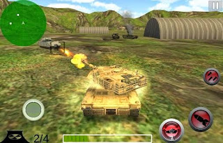 Screenshots of the Modern Battle Tank War for Android tablet, phone.