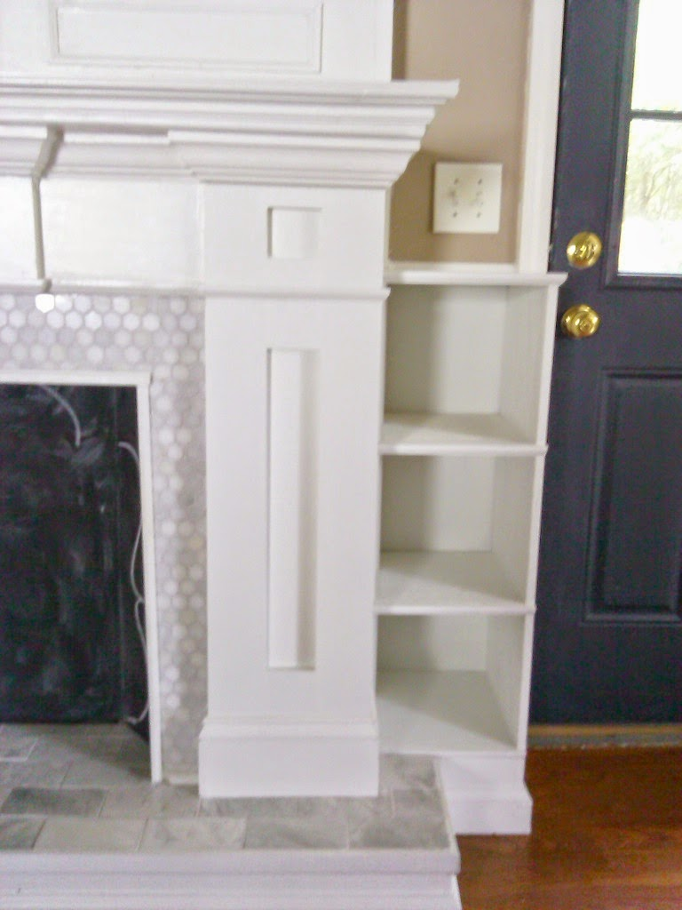 home heart and hands diy fireplace reveal