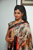 Syamala glamorous photos in saree-thumbnail-15