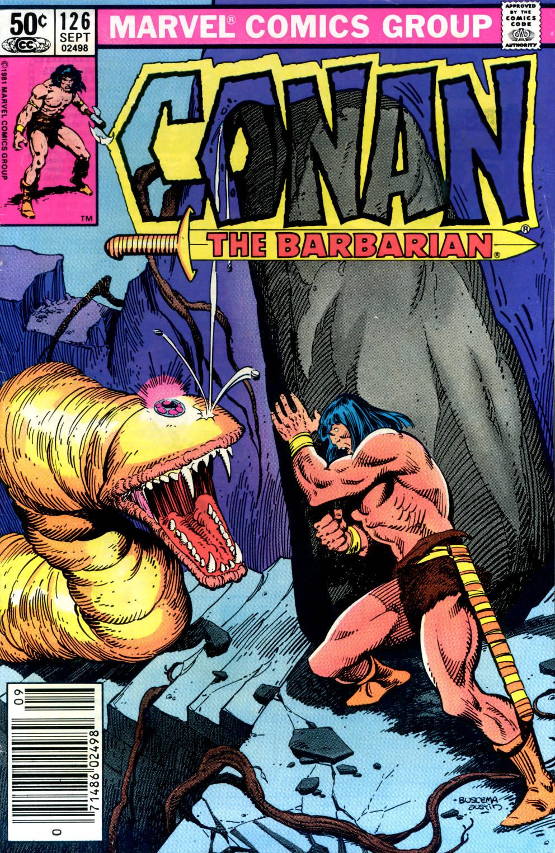 Conan the Barbarian (1970) Issue #126 #138 - English 1