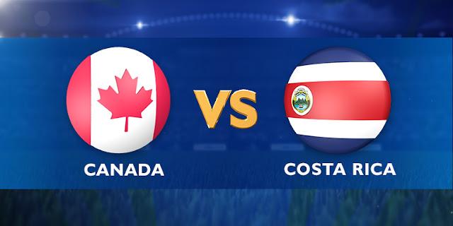 Kanada vs Kosta Rika Piala Emas CONCACAF 2015