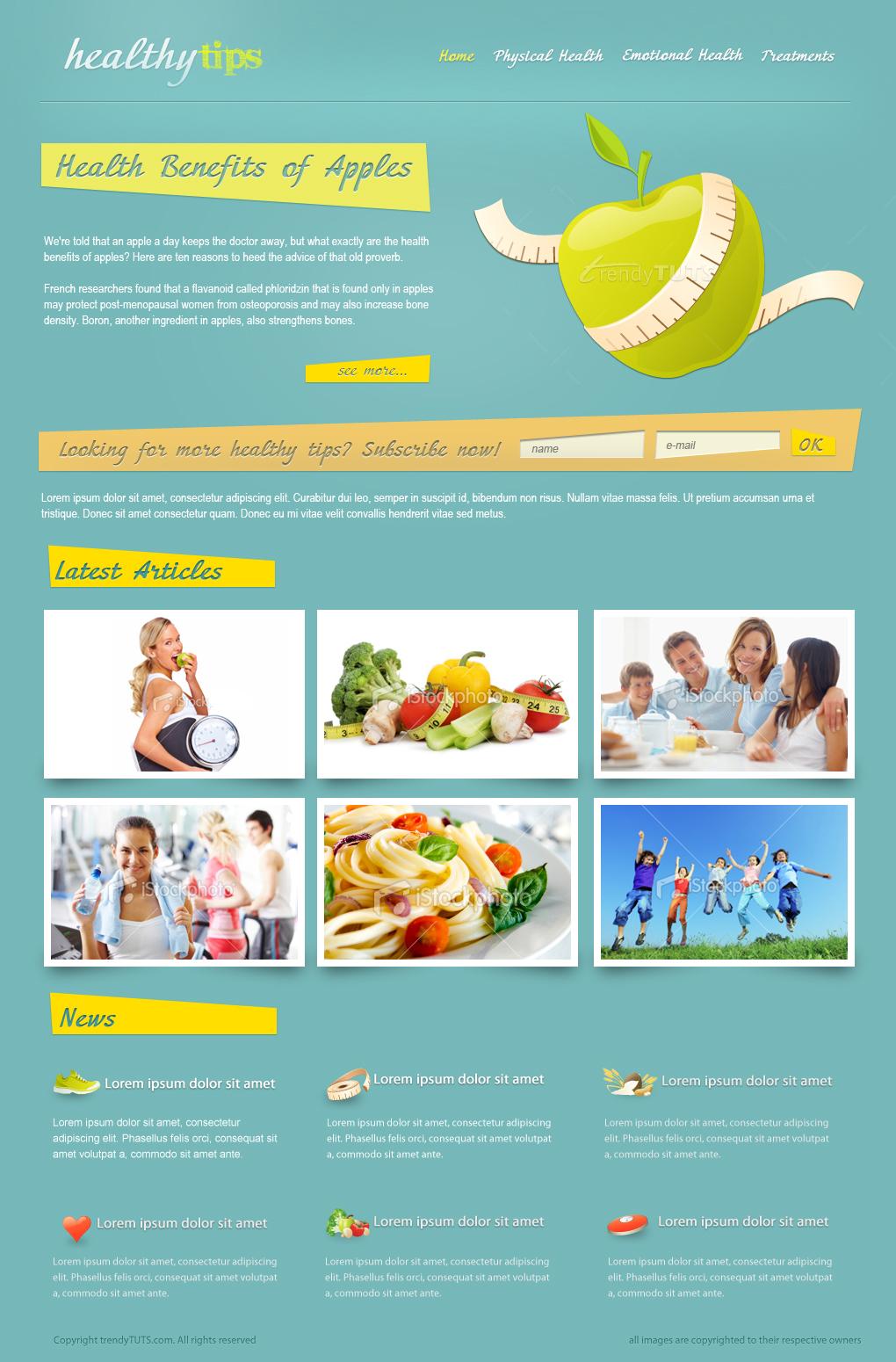 Web design tutorss march 2013 photoshop web design tutorials baditri Choice Image