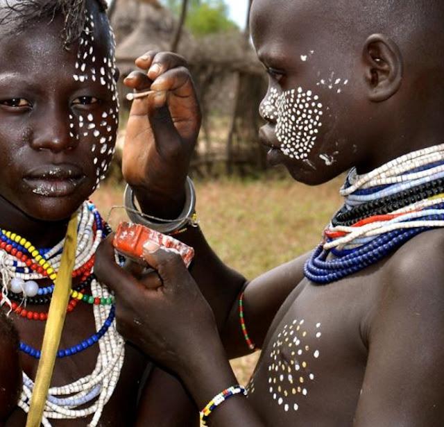 Деца от африканско племе