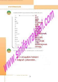 6.Sinif  Turkce Doku Yayinlari Ogrenci Calisma Kitabi Sayfa 38