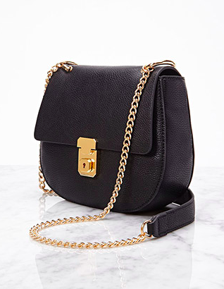 Suz & the sun style, Suz & the sun POTD, Forever 21 Faux Leather lock crossbody