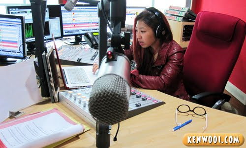 radio station mic