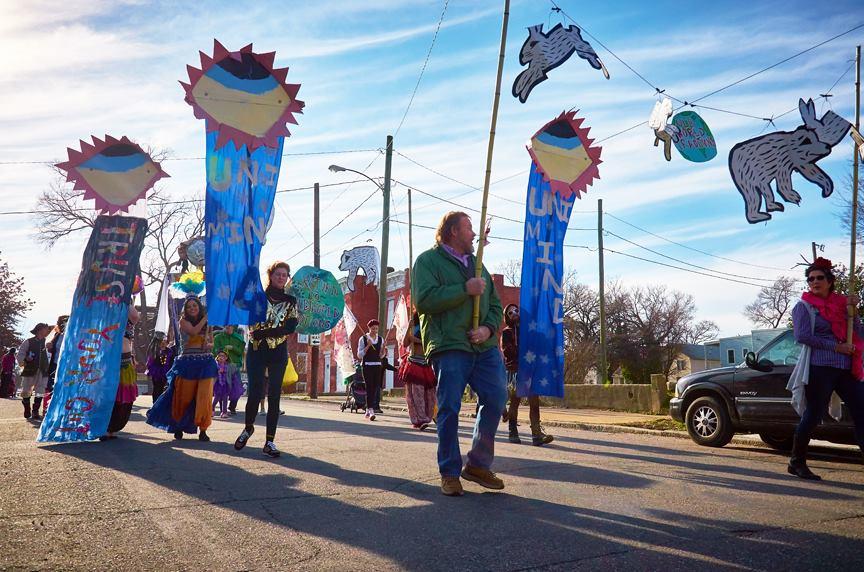 2016 Mardi Gras RVA photos