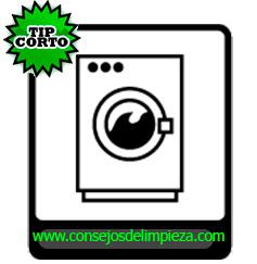 sección lavado de ropa