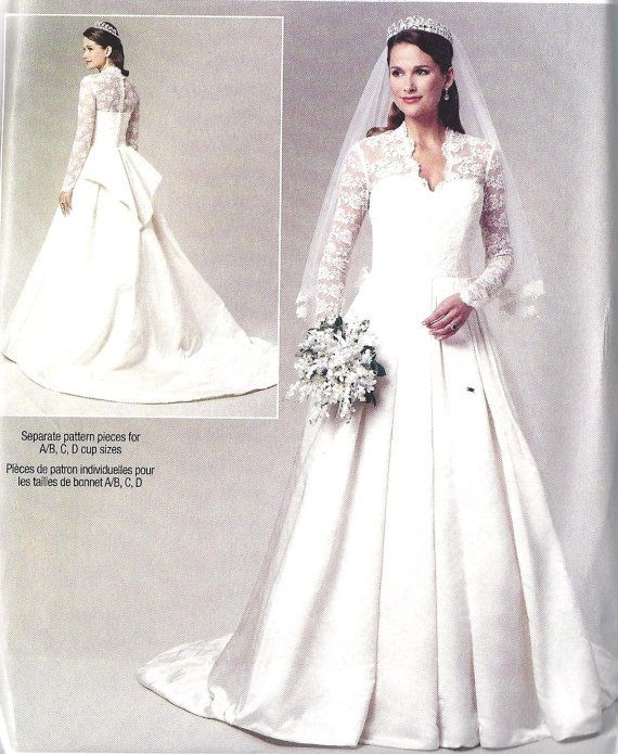 Wedding Dresses With Patterns
