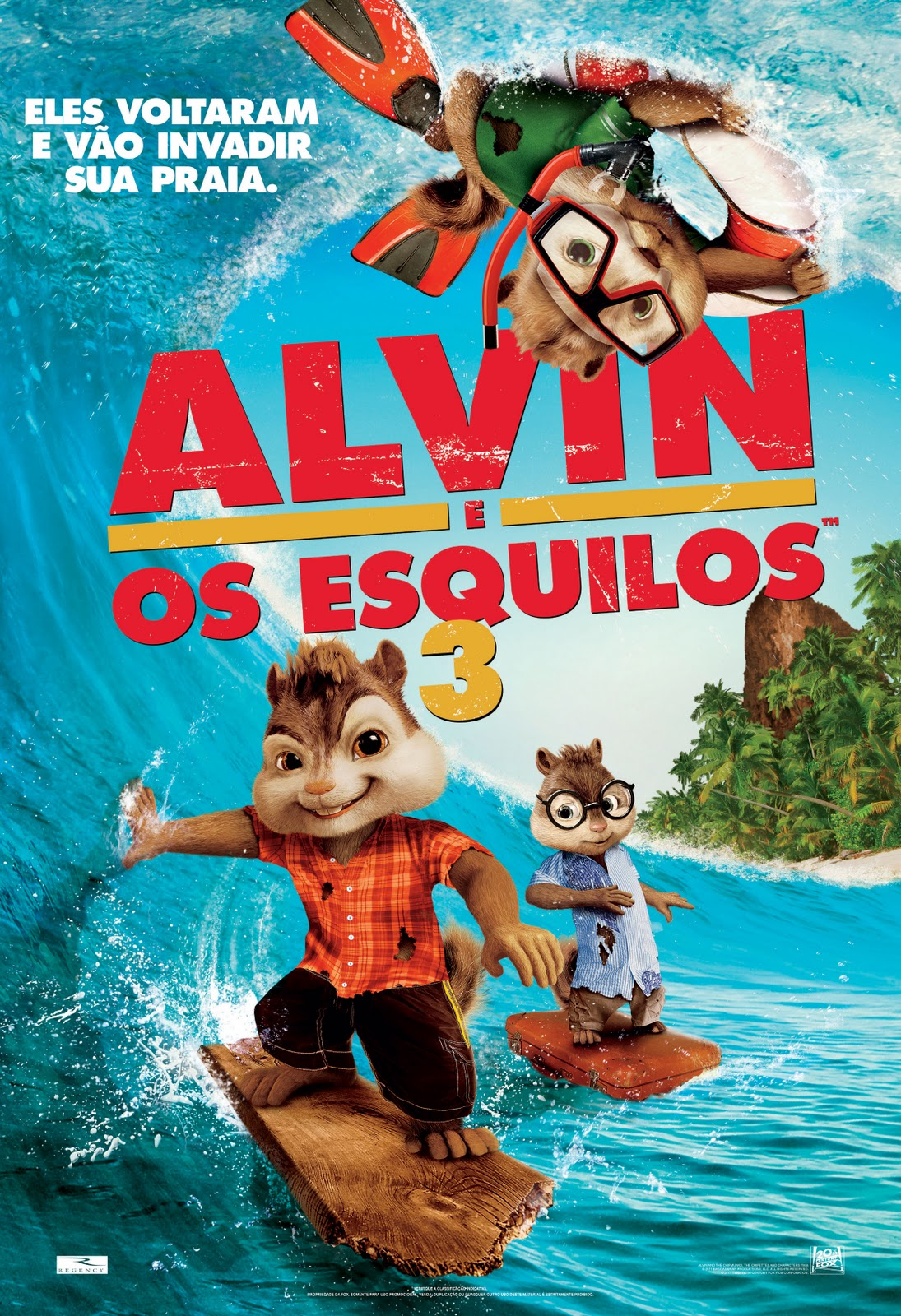 Alvin e os Esquilos 3 Download