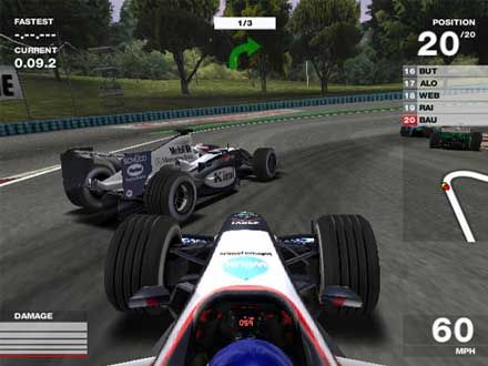 F1 pc game 2008