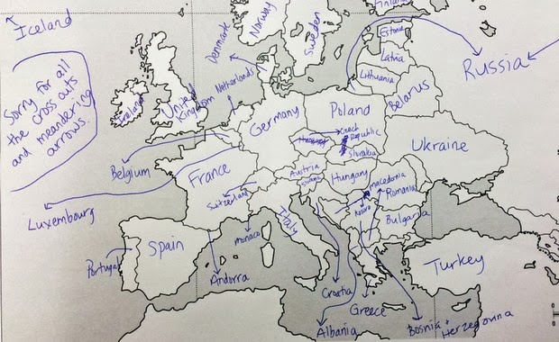Americans geographical knowledge test
