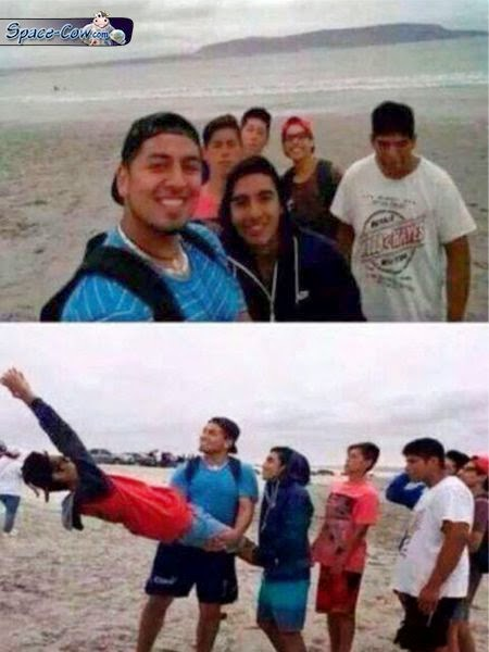 funny people selfie picture