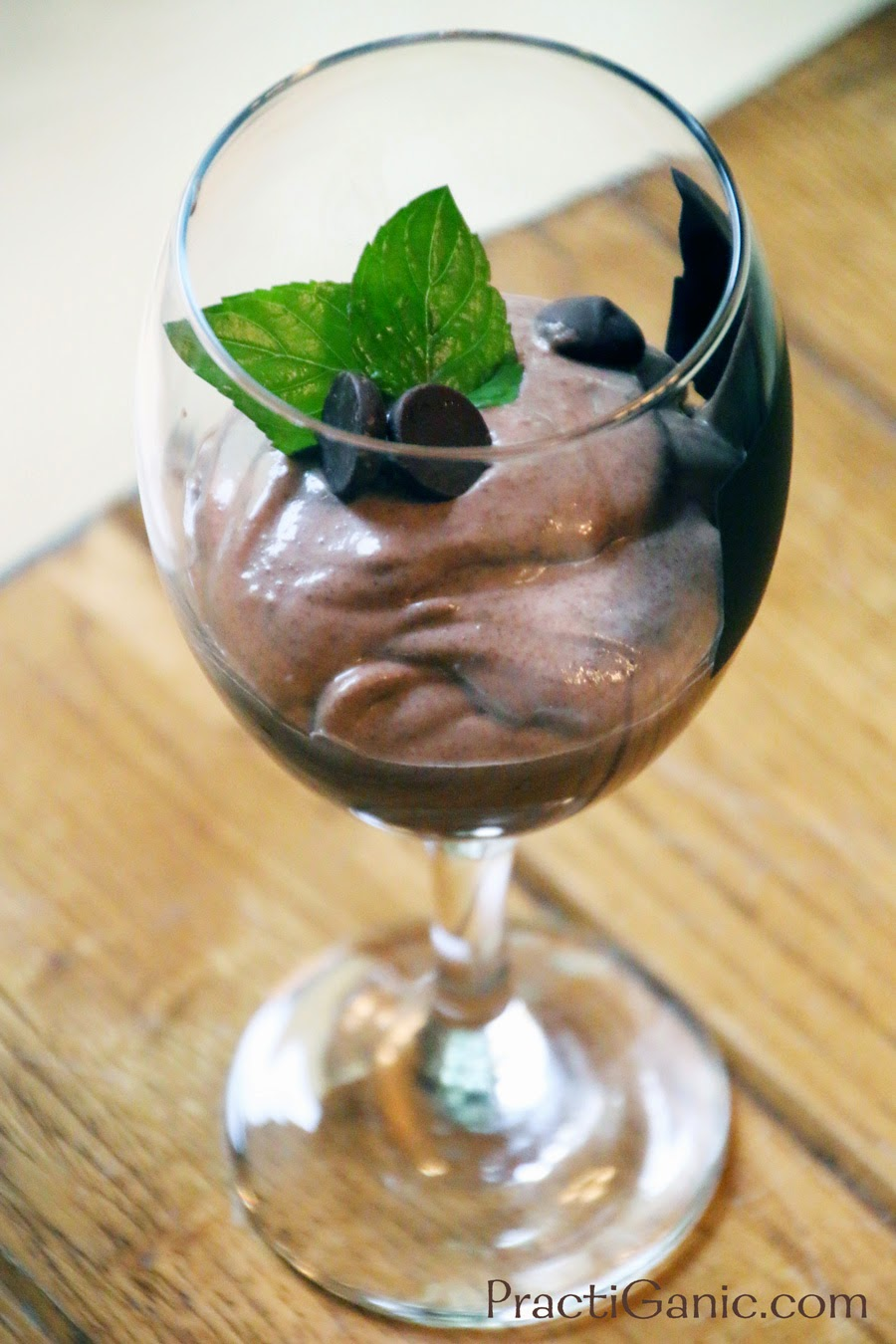 Mint Chocolate Ricotta Mousse