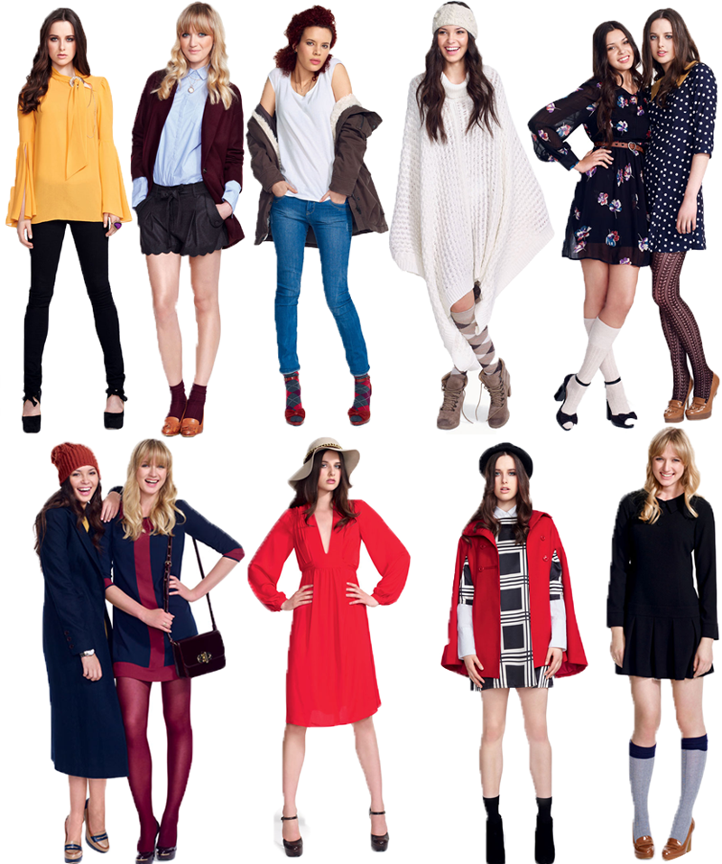 aw 2011 new look uk fashion miss drifted snow white
