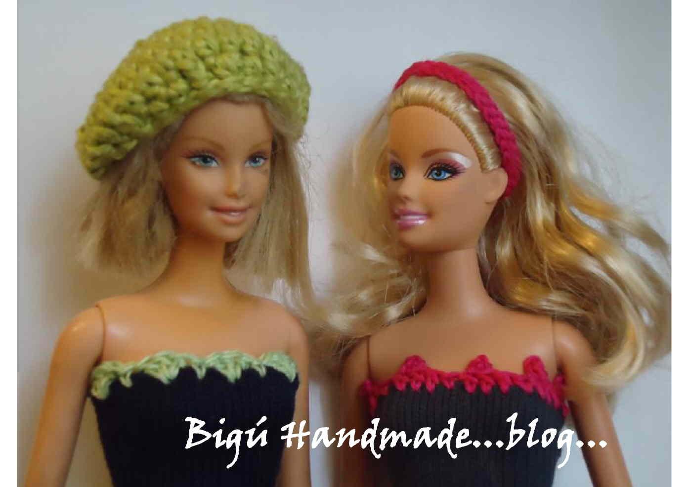 Patrones de vestidos de muñecas barbie tejidos a crochet - Imagui