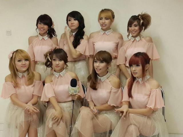 Cherrybelle di SCTV Awards 2013