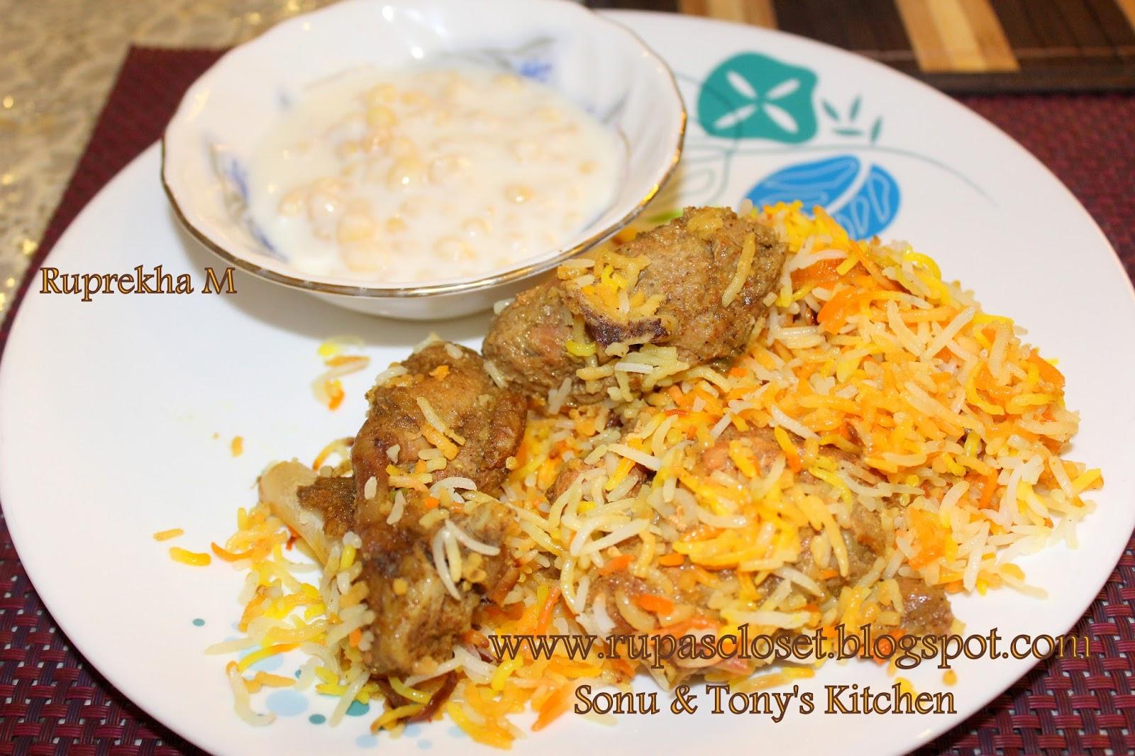 how to make mutton dum biryani