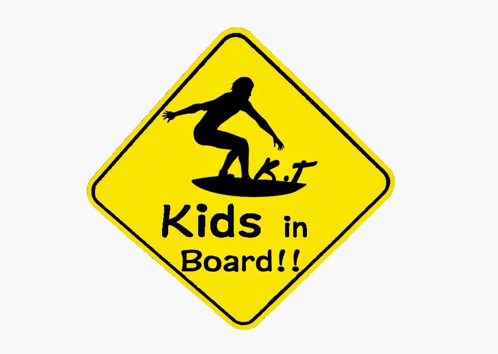 kids in board! オリジナルステッカー