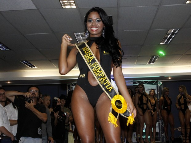 Bruna Walker, of Paraná, is elected as Musa congeniality at muse Brazil