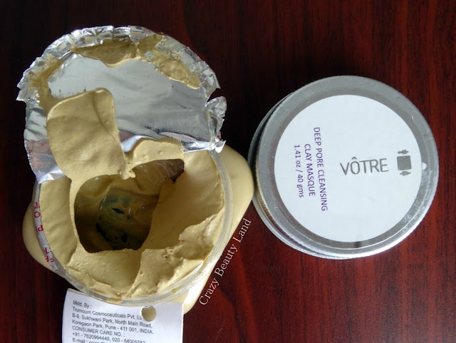 June FAB BAG Votre Deep Pore Cleansing Clay Masque Review