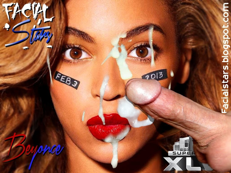 Beyonce Superbowl XLVI Facial cover