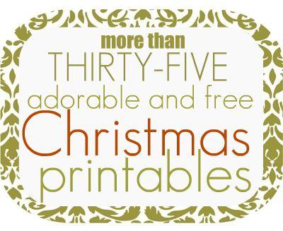 printablesjpg - Christmas Printable