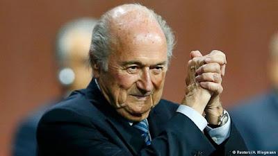 BLATTER É REELEITO PRESIDENTE DA FIFA
