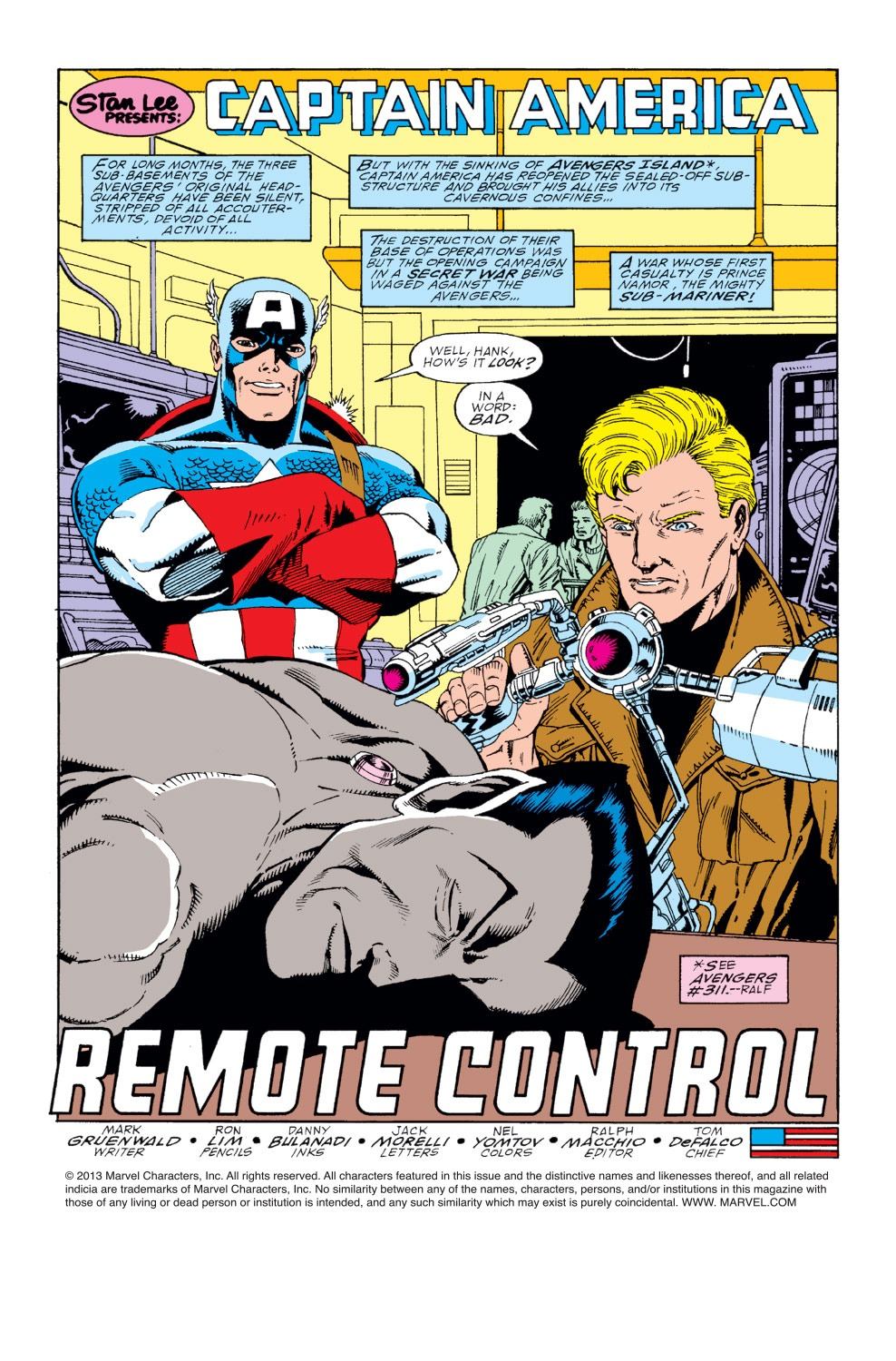 Captain America (1968) Issue #366 #299 - English 2