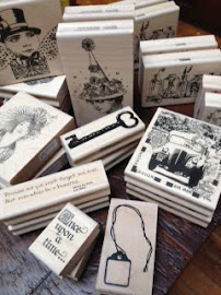 Wood Mount Art Stamps