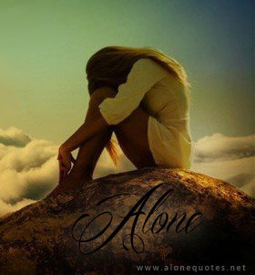 alone girl facebook profile picture
