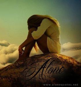 alone girl facebook profile picture
